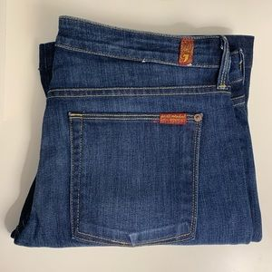 7 for All Mankind Jeans Size 31 Jiselle Flare Leg